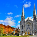 Canada, Qu�c, Basilique de Sainte-Anne-de-Beaupre